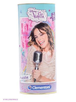 Пазл Виолетта. Певица, 350 элементов Clementoni. Цвет: голубой