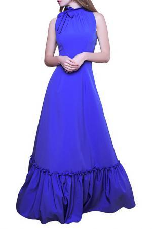 Платье MARICHUELL. Цвет: незабудка