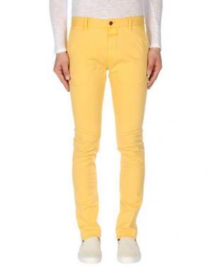 Повседневные брюки CLOSED. Цвет: желтый