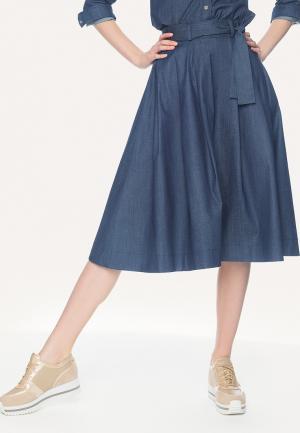 Юбка джинсовая Stimage. Цвет: синий