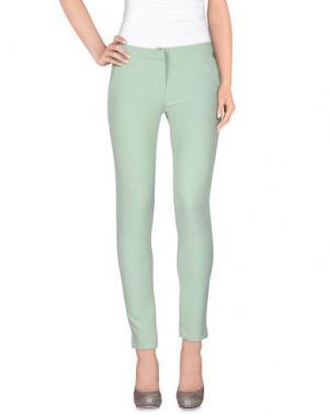 Повседневные брюки PEPEROSA. Цвет: светло-зеленый