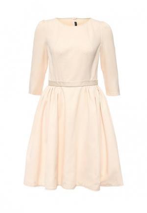 Платье Isabel Garcia. Цвет: бежевый