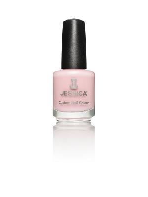Лак для ногтей  # 728 Strawberry Shake It, 14,8 мл JESSICA. Цвет: бледно-розовый