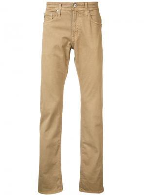 Tellis slim jeans Ag. Цвет: телесный