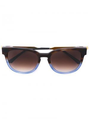 Солнцезащитные очки Thierry Lasry. Цвет: коричневый