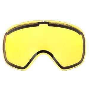 Линза для маски  Bullet Yellow Ashbury. Цвет: желтый
