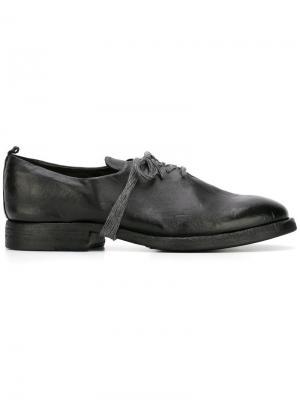 Туфли на шнуровке Sartori Gold. Цвет: чёрный