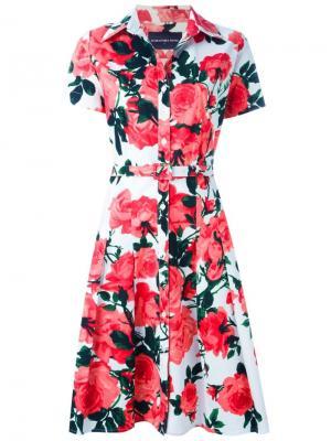 Платье Patricia Samantha Sung. Цвет: белый