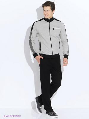 Спортивный костюм RED-N-ROCK'S. Цвет: светло-серый