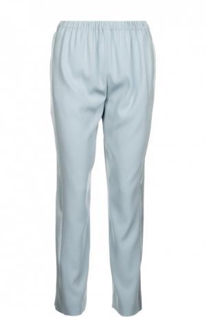 Прямые брюки с лампасами и эластичным поясом Kenzo. Цвет: серый