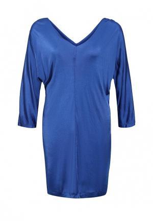 Платье Silvian Heach. Цвет: синий