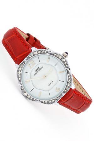 Часы IBSO. Цвет: серебро, красный
