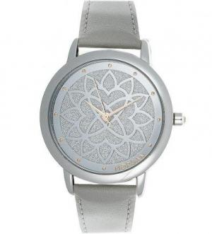 Часы круглой формы из нержавеющей стали Morgan