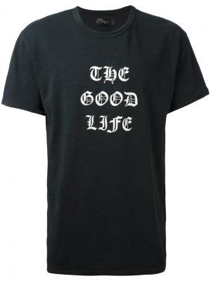Футболка  Good Life Amiri. Цвет: чёрный