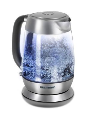 Чайник REDMOND RK-G151. Цвет: прозрачный
