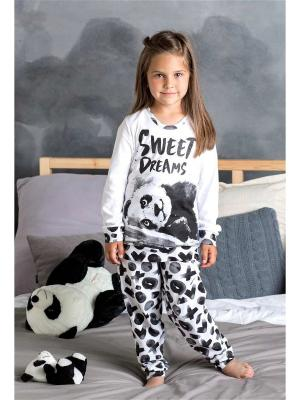 Пижама Extreme Intimo. Цвет: белый