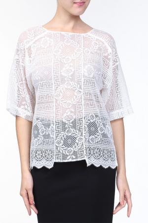 Блуза Forte. Цвет: белый
