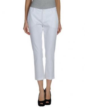 Повседневные брюки JO NO FUI. Цвет: белый