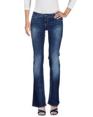 Джинсовые брюки FIFTY FOUR. Цвет: синий