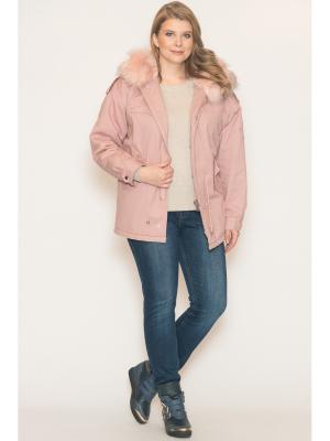 Куртка Modaleto. Цвет: розовый