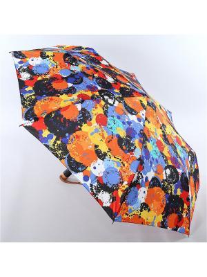 Зонт Airton. Цвет: рыжий, голубой