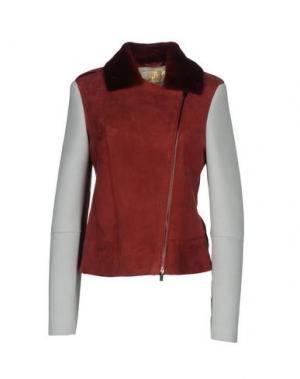 Куртка VINTAGE DE LUXE. Цвет: пурпурный
