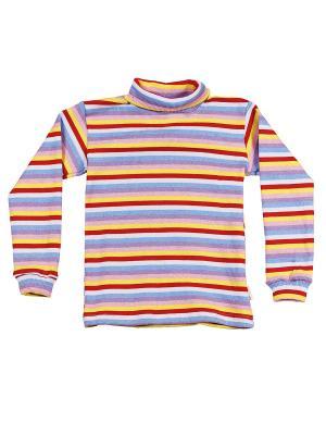 Водолазка с начесом МИКИТА. Цвет: голубой, красный, желтый