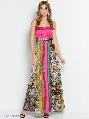 Платье ZAYKINS. Цвет: розовый