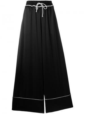 Пижамные брюки Off-White. Цвет: чёрный