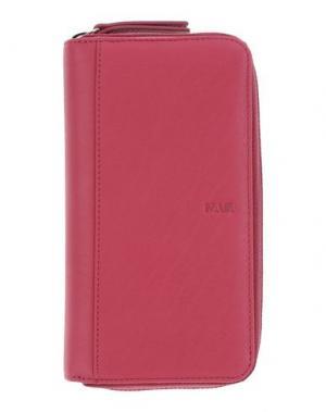 Бумажник NAVA. Цвет: пурпурный
