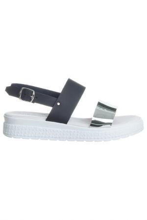 Sandals NILA. Цвет: silver, black