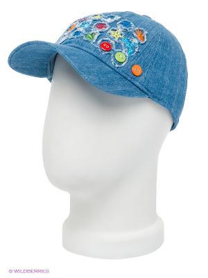 Бейсболка Maxval. Цвет: синий, зеленый, красный, оранжевый