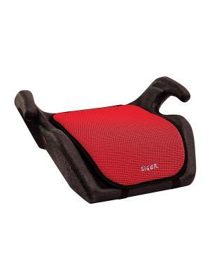 Детское автомобильное кресло Мякиш SIGER. Цвет: красный