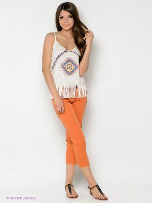 Капри People. Цвет: оранжевый