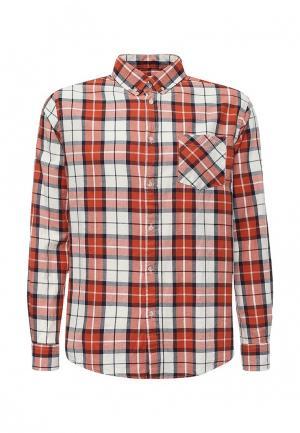 Рубашка Modis. Цвет: оранжевый