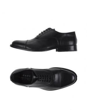 Обувь на шнурках GREY DANIELE ALESSANDRINI. Цвет: черный
