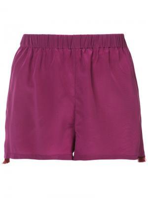 Шорты Cassia Figue. Цвет: розовый и фиолетовый