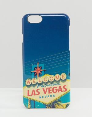 SIGNATURE Чехол для iPhone 6 Las Vegas. Цвет: мульти