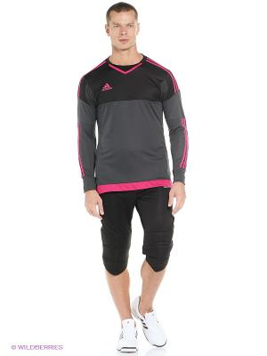 Бриджи Tierro13 GK 3/4 Adidas. Цвет: черный