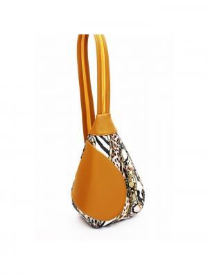Рюкзак Savio. Цвет: светло-оранжевый, горчичный