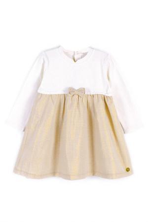 Платье Coccodrillo. Цвет: экрю