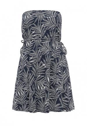 Платье Volcom. Цвет: синий