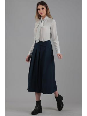 Блузка ЭНСО. Цвет: белый
