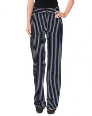Повседневные брюки MAURIZIO MASSIMINO. Цвет: темно-синий