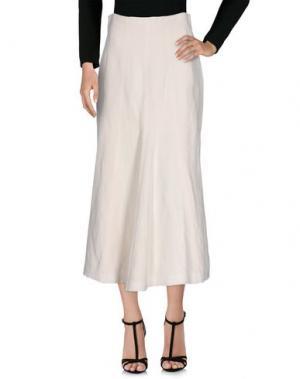 Длинная юбка 6267. Цвет: слоновая кость