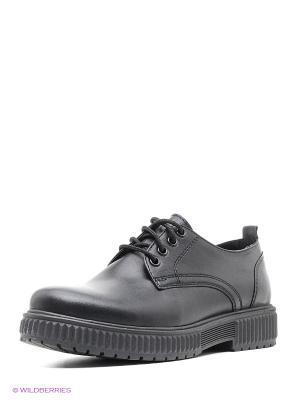 Туфли HCS. Цвет: черный