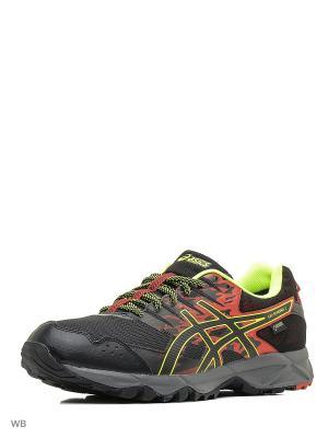 Спортивная обувь GEL-SONOMA 3 G-TX ASICS. Цвет: желтый, красный, черный