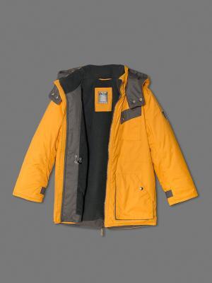 Куртка ЕМАЕ. Цвет: светло-оранжевый