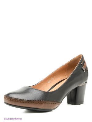 Туфли Covani. Цвет: черный, темно-коричневый
