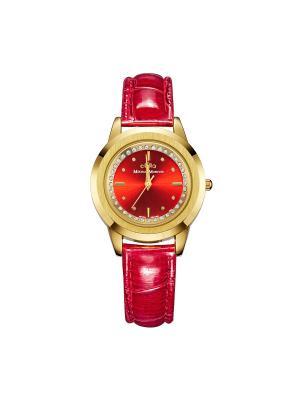 Часы Mikhail Moskvin. Цвет: золотистый, красный